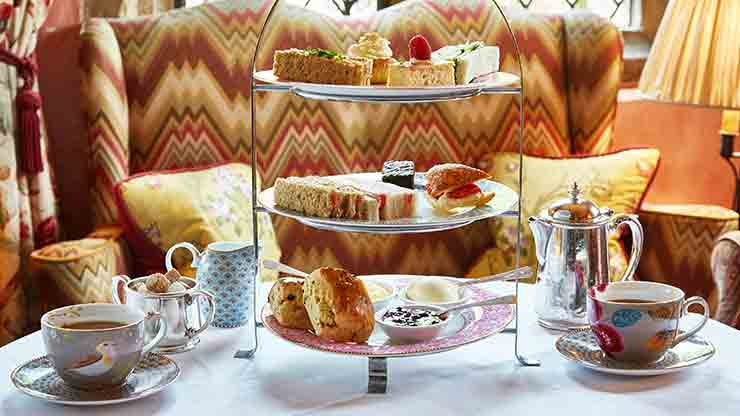 The Celebration Afternoon Tea for Two at Bailiffscourt