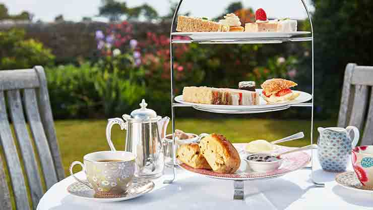The Bailiffs Afternoon Tea for Two at Bailiffscourt