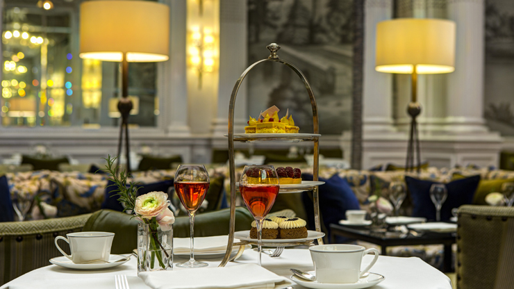 The Balmoral Champagne Afternoon Tea for Two