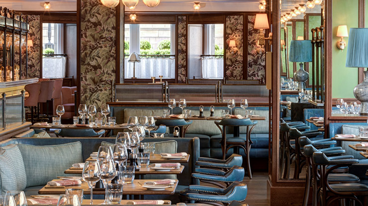 Meal for Two at Brasserie Prince by Alain Roux