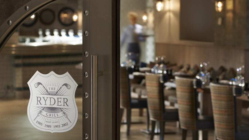 Sunday lunch for two in The Ryder Grill