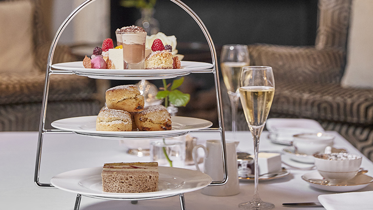 DUKES Champagne Afternoon Tea for Two People