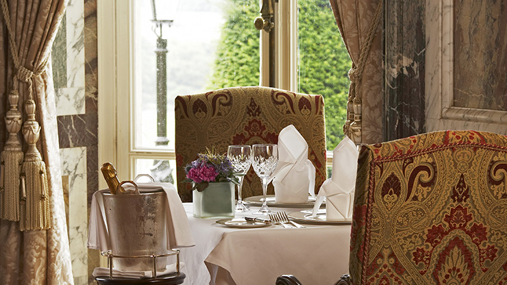 3 Course Table d' hote Dinner for Two in the Wernher Restaurant