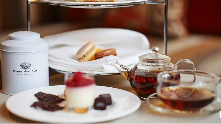 Chocolate Afternoon Tea time