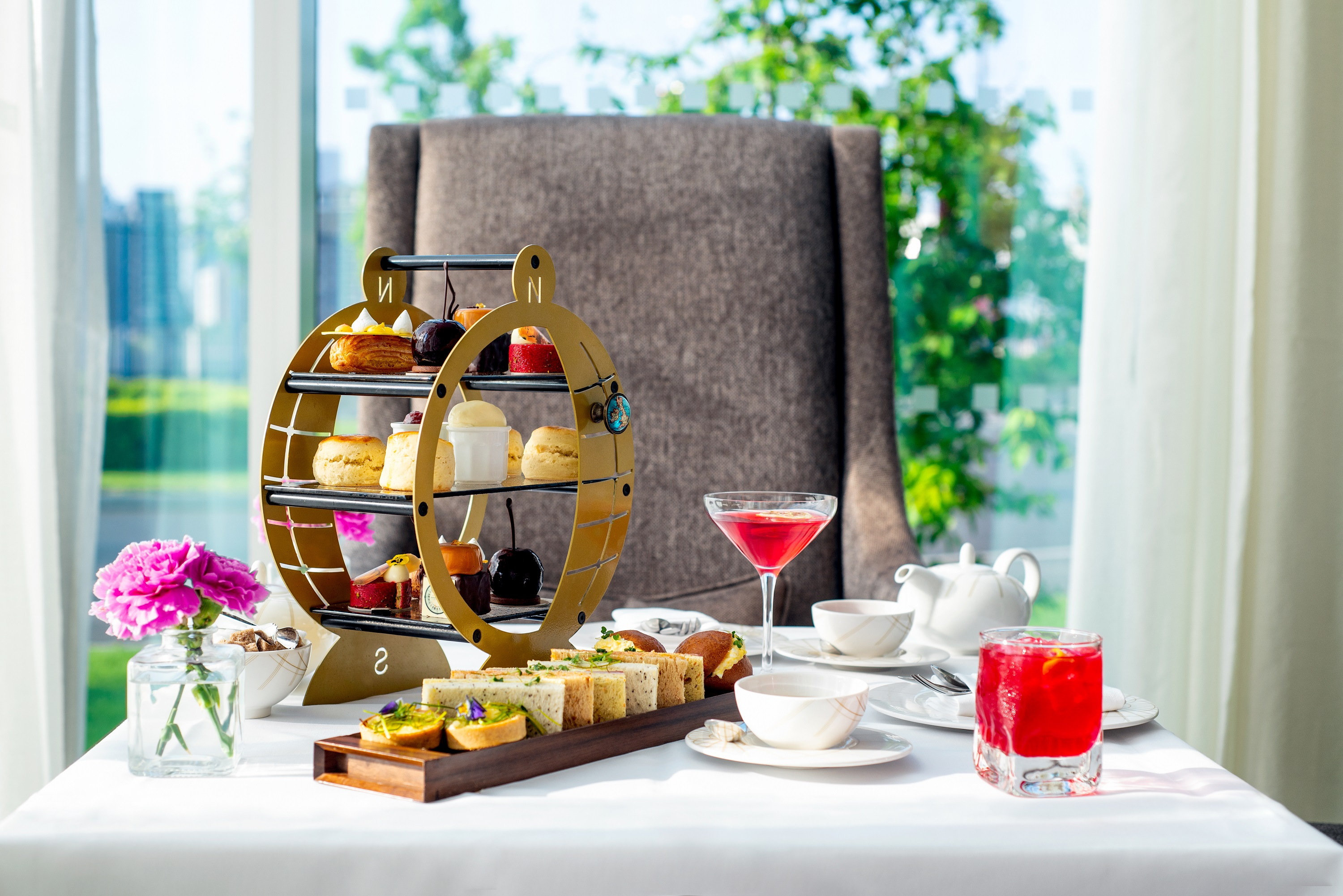 Spa Afternoon Tea for Two