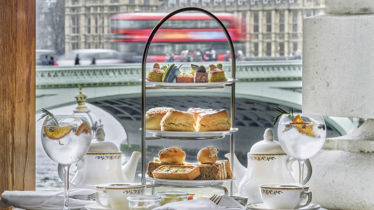 Free Flowing G&T Afternoon Tea for One