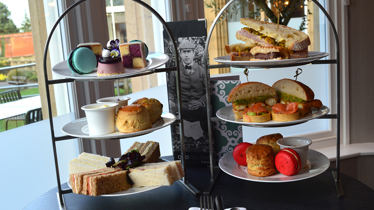 Prestige Afternoon Tea for Two at Oddfellows On The Park