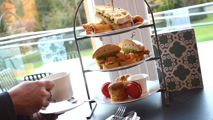 Savoury Afternoon Tea for Two - Oddfellows On The Park
