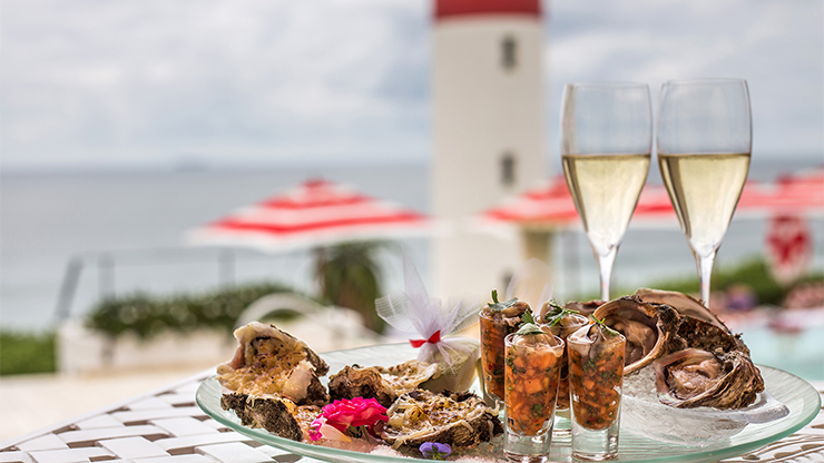 Bubbly & Oyster Platter for Two