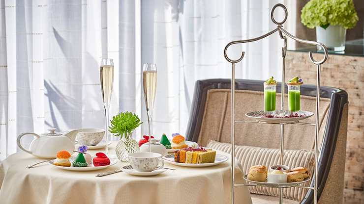 Royal Afternoon Tea for One with Unlimited Champagne