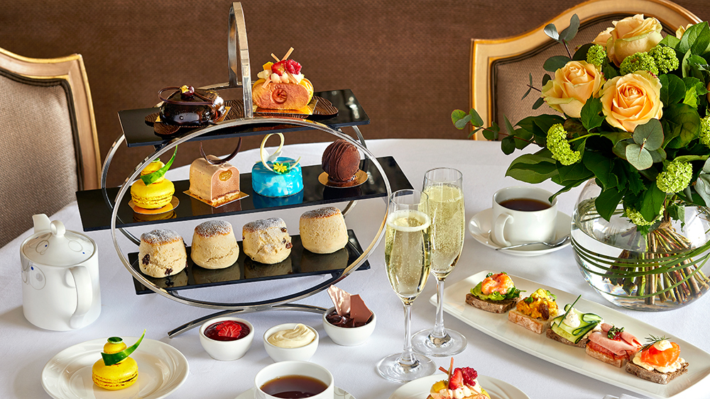 Confessions of a Chocoholic Champagne Afternoon Tea for One