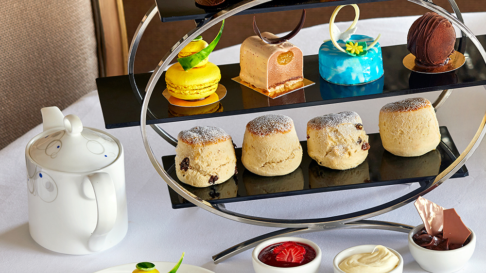 Confessions of a Chocoholic Afternoon Tea for One