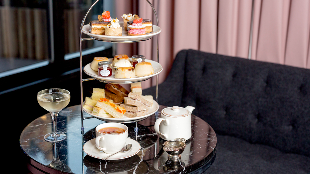 Afternoon Tea for Two With Prosecco In London