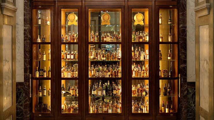 Scarfes and Scotch: A walk through the world of scotch whisky for one