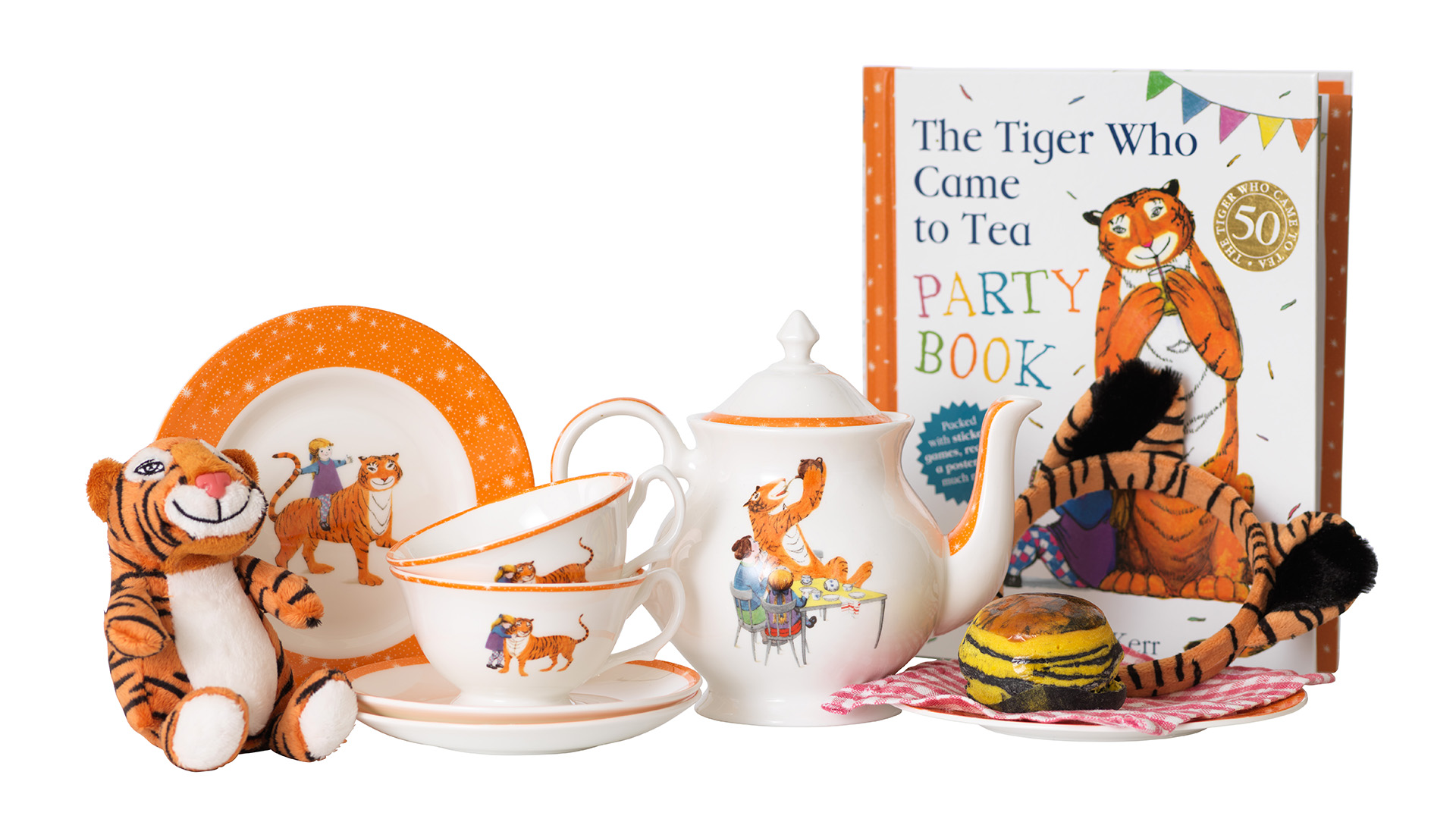 The Tiger Who Came to Tea at The Savoy - China Set
