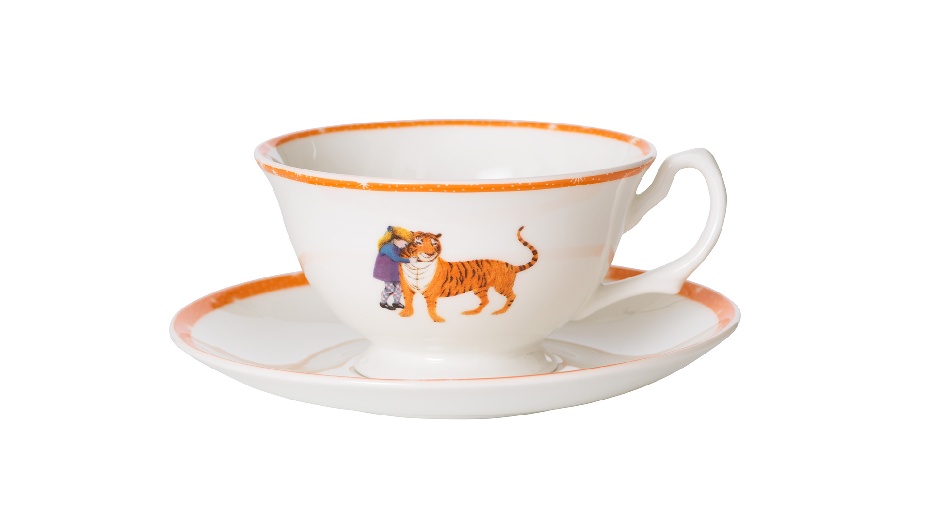 The Tiger Who Came to Tea at The Savoy - Tea Cups and Saucers