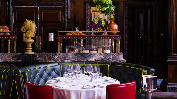 Drink in the Knight's Bar and Three-Course Dining Experience in the Grand Divan for One