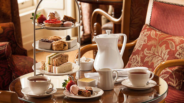 Vintage Afternoon Tea For Two People
